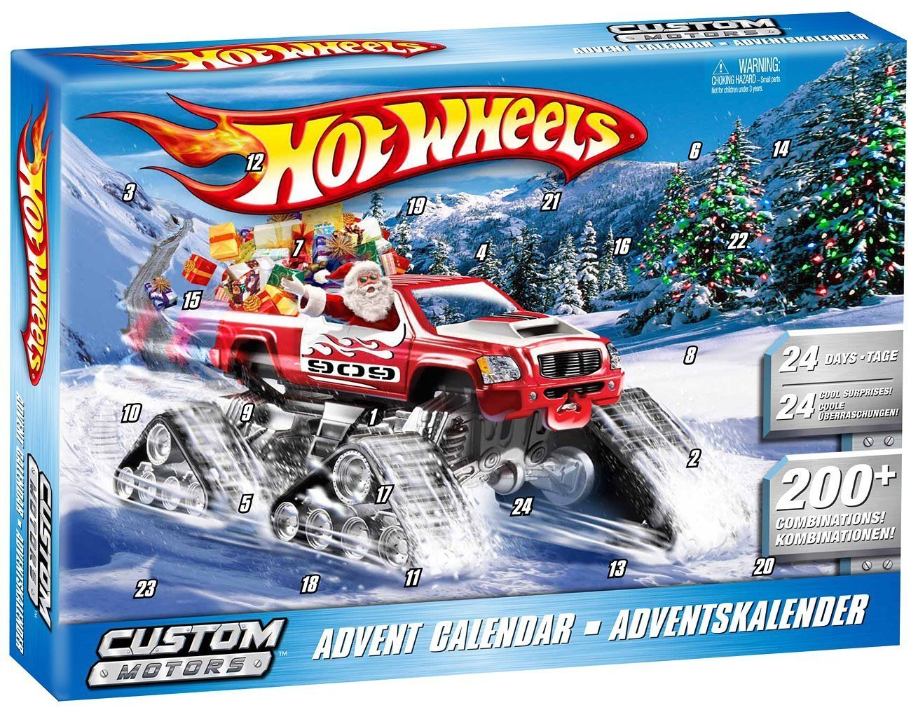 hot wheels adventskalender 2010 monstertruck. Black Bedroom Furniture Sets. Home Design Ideas