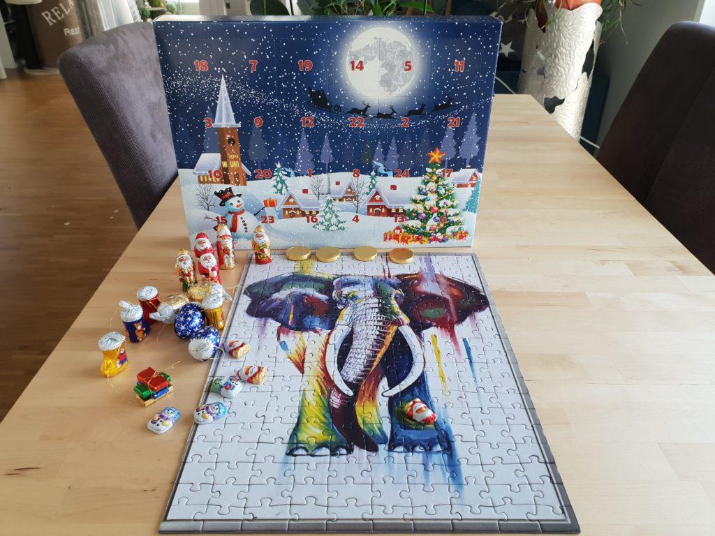 Fotopuzzle - Adventskalender