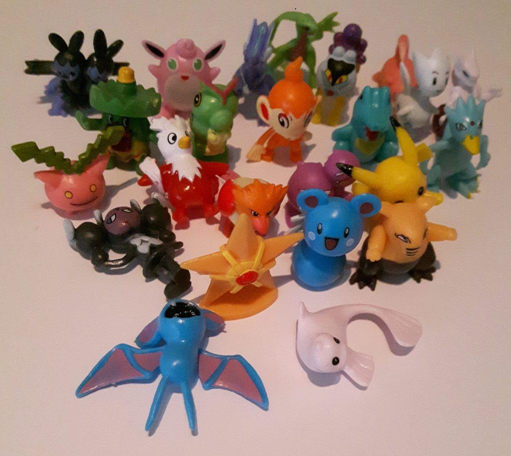 24 Pokemons für einen Pokemon Adventskalender