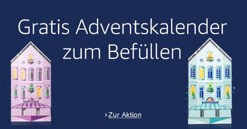 Gratis Amazon-Adventskalender zum Selbstbefüllen