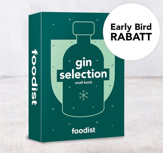 Foodist Gin Adventskalender 2020 - 24 Gins aus aller Welt