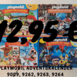 Sonderposten: Playmobil Adventskalender 9009, 9262, 9263, 9264