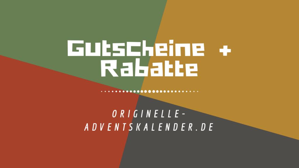 Gutscheine +Rabatte