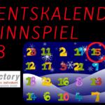 Adventskalender Gewinnspiel 2018 – 15. Türchen