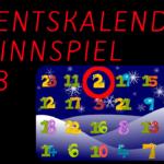 Adventskalender Gewinnspiel 2018 – 2. Türchen