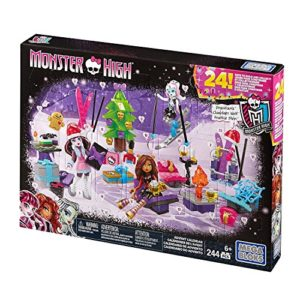 Monster High Adventskalender - Mattel Mega Bloks - DPK33