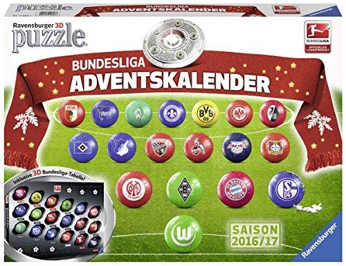 Ravensburger 3D-Puzzle Bundesliga Adventskalender 2016/2017 - 11696