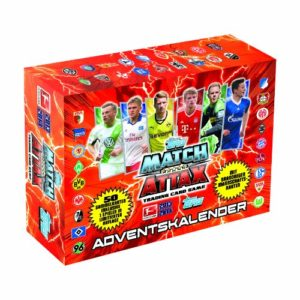 Topps Match Attax Adventskalender Bundesliga Saison 2013-2014