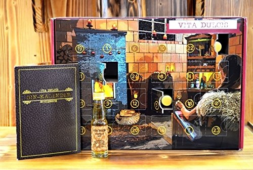 Vita Dulcis Gin Adventskalender Edition Basic 2017 - 24x0,02l