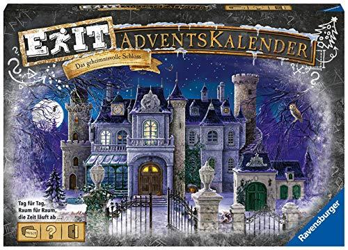 """Ravensburger 18941 EXIT Adventskalender """"Das geheimnisvolle Schloss"""""""