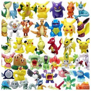 24 verschiedene Pokemon Figuren - zum Adventskalender befüllen