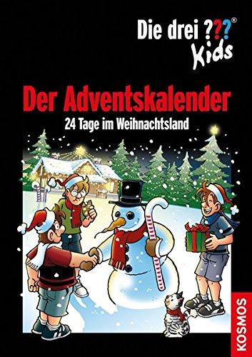 Die drei ??? Kids - Adventskalender: 24 Tage im Weihnachtsland - 2016