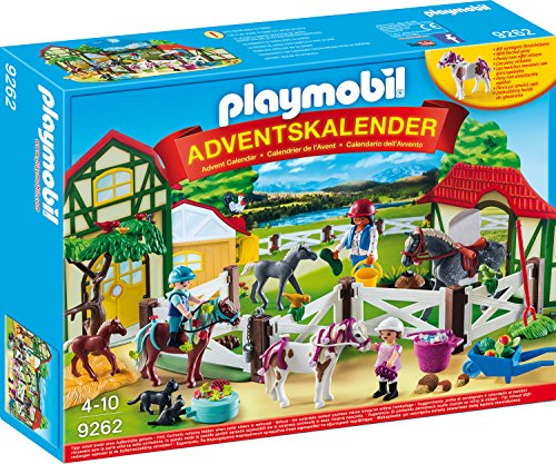 "PLAYMOBIL 9262 - Adventskalender ""Reiterhof"" 2017"
