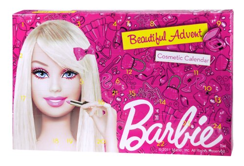 Mattel Barbie 9261620 - Kosmetik Adventskalender