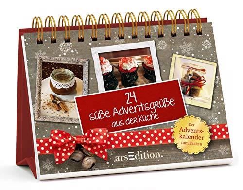 24 süße Adventsgrüße aus der Küche: Der Adventskalender zum Backen