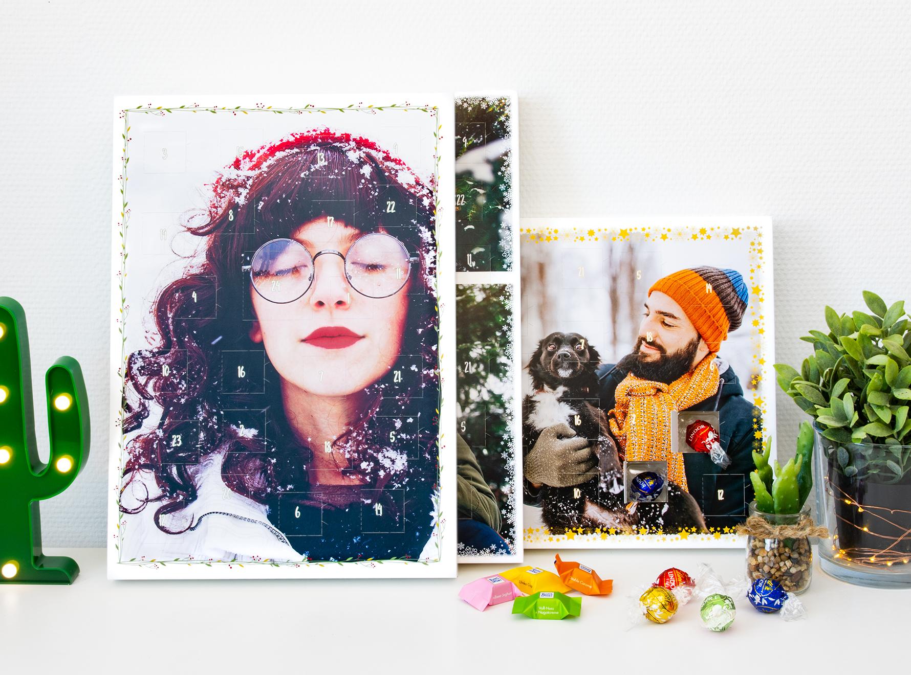 Foto Adventskalender Ruck Zuck mit Schokolade