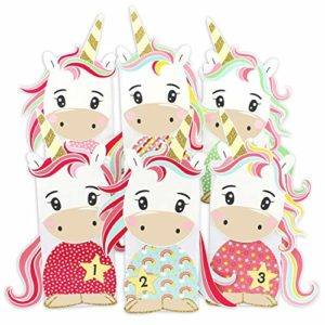 DIY Einhorn Adventskalender