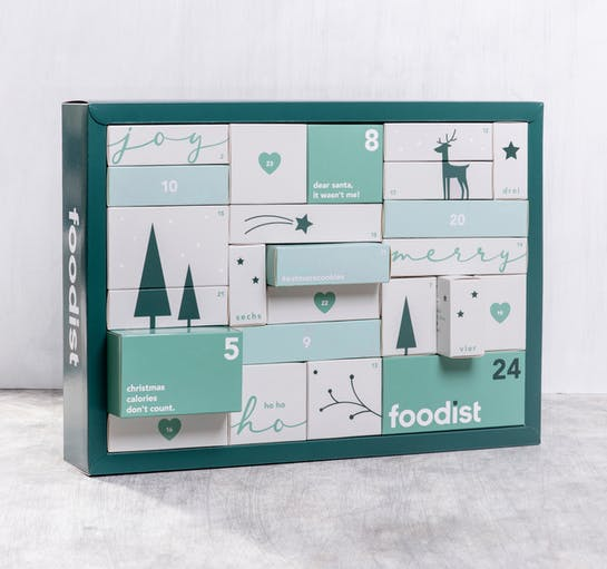 Foodist Veganer Adventskalender 2020