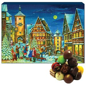 Hallingers Pralinen-Adventskalender - Rothenburg (Advents-Karton)