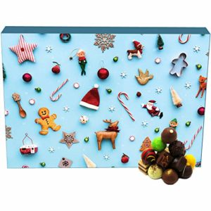Hallingers Pralinen-Adventskalender - Little Things (Advents-Karton)