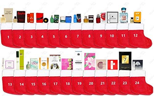 Parfum Adventskalender - 24x Parfum Eau de Toilette & Eau de Parfum Miniaturen/Proben