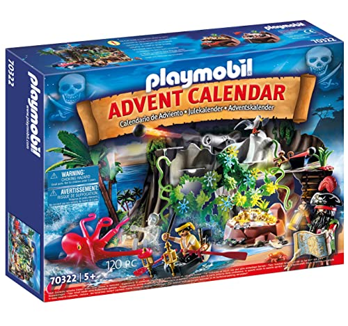 "PLAYMOBIL Adventskalender ""Schatzsuche in der Piratenbucht"" 70322 - 2020"