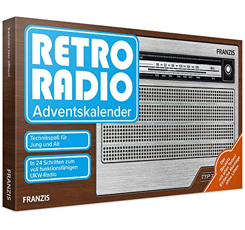 FRANZIS Retro Radio Adventskalender 2020