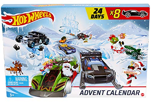 Hot-Wheels - Adventskalender 2020