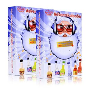 2x Gräfs Party-Minis Adventskalender 24 x 2 cl