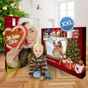 Foto-XXL-Adventskalender zum Selbstbefüllen