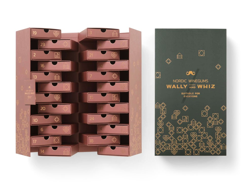 Wally and Whiz Weingummi Adventskalender - Grau