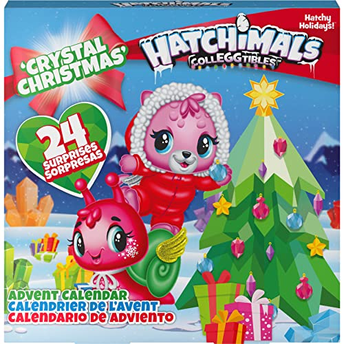 Hatchimals - CollEGGtibles Crystal Christmas - Adventskalender mit 15 exklusiven Sammelfiguren