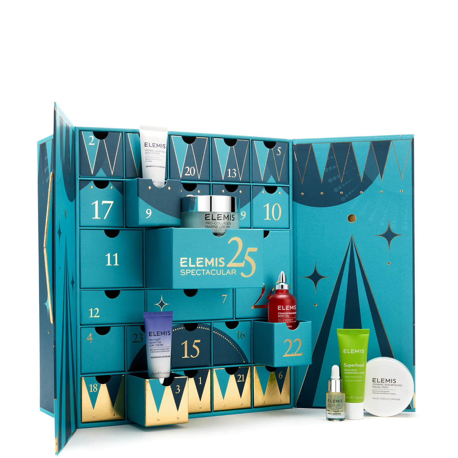 ELEMIS Adventskalender 2020 - 25 Days of Spectacular Skin