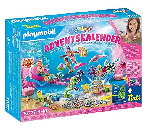 Playmobil Adventskalender 2021 - Badespaß Meerjungfrauen - 70777