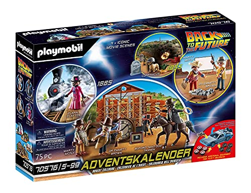 Playmobil Adventskalender 2021 - Back to The Future Part III - 70576