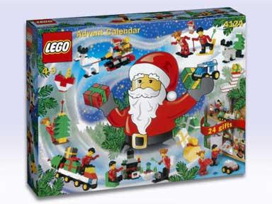 Lego - 4124 - Adventskalender – 2001